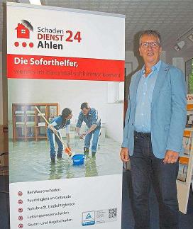 Soforthilfe beim Wasserschaden